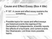 define cause and effect essay definition essay examples family define cause and effect essay