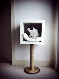 modern pet furniture. Hubby Wanted Something More Stylish Than The Beige Carpet Covered Cat Furniture We\u0027ve Had Last Few Years, But I To Make Sure Would Like Modern Pet O