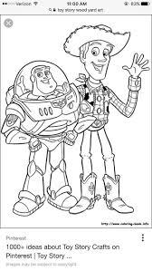 Coloriage Toy Story 3 Buzz Et