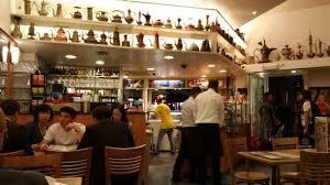 busy restaurant interior. Delighful Interior Aux Gaufres De Bruxelles Restaurant Interior Busy And In Motion Intended Busy Interior