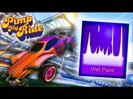pimp my rocket league ride wet paint