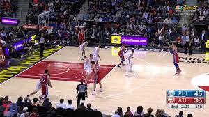 Philadelphia 76ers - JJ vs Hawks