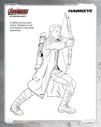 Small Picture Hawkeye Coloring Pages Best Coloring Pages adresebitkiselcom