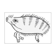 花札はんこ 萩に猪 萩モノづくりを楽しむサイト Cotora Monora