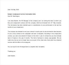 End Of Lease Letter How To A Termination Example Contract – Kensee.co