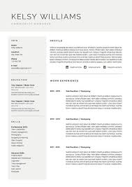 Modern Resume Template Oddbits Studio Free Download 5 Page Resume Template Cv Template Pack Cover Letter