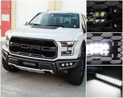 Ford Raptor Light Bar Behind Grill Behind Grille Led Light Bar Kit For 2017 Up Ford Raptor 1