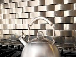 Metal Wall Tiles For Kitchen Kitchen Backsplash Tile Ideas Hgtv