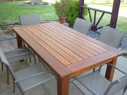 woodwork cedar outdoor dining table plans pdf plans