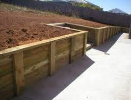 diy timber retaining walls richmond