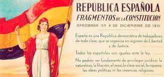 Resultado de imagen de segunda republica española
