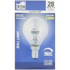 Lsc Halogeen Kogellamp Actioncom