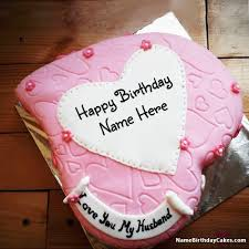Birthday Cake Images For Husband With Photo