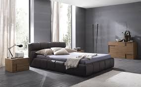 master bedroom blue color ideas. Bedroom. Grey Wall Theme And Bed On Floor Connected By Black Curved Table Master Bedroom Blue Color Ideas