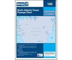 Imray Chart 100 I I 100 North Atlantic Ocean Passage Chart By Imray Iolaire