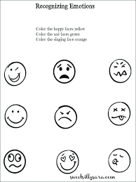 Color Your Feelings Worksheet Activity Sheet Grieving