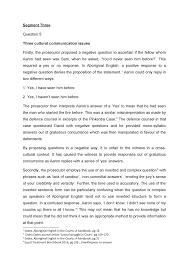 Segment Three Draft 1 - LLB106 Criminal Law - QUT - StuDocu