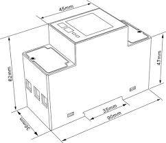 sdm220 modbus single phase 2 wire 1p2w energy meter watt hour sdm220 modbus single phase 2 wire 1p2w energy meter watt hour meter