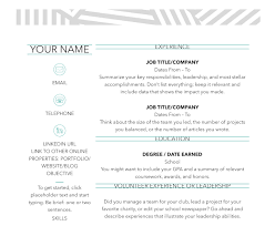 Simple Resume Template Microsoft Word 50 Free Microsoft Word Resume Templates Updated February 2019