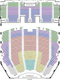 Centennial Concert Hall Seating Chart Spotlight 29 Seating Chart
