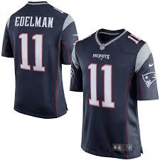 Game Julian Blue New Navy Edelman Men's Patriots Nike England Jersey|In The 1:00 P.m