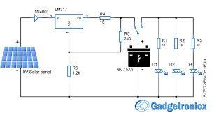 5w led driver circuit diagram elegant solar powered led light circuit