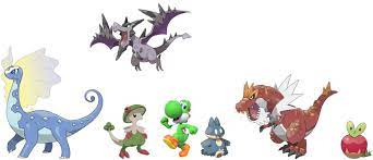 Day 3 of making Pokémon teams for video game characters, If yoshi had a  Pokémon team (this time I will let you recommend a character in the  comments).: MandJTV