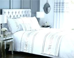 sequin bedding sets sequin duvet cover white and silver bedding set large size of and silver