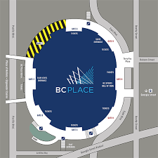 Spectator Guide For Saturday At Bc Place Vancouver