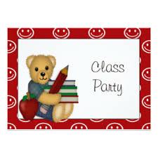 Class Party Invitation Classroom Party Graduation Invitations Announcements Zazzle