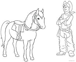 Western Boots Coloring Pages Samsungcctvinfo