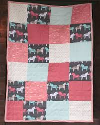 Oh. THAT Annelie...: DIY Project: 1 Day Baby Quilt & I wanted a simple design to showcase this horse pattern print, which  reminded me of a Swedish Dala horse, a very traditional, Swedish symbol. Adamdwight.com