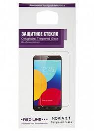 Купить <b>Защитное стекло Red</b> Line Nokia 3.1 по выгодной цене ...