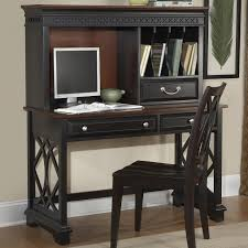 writing desk with hutch and drawers wood computer white furniture small antique