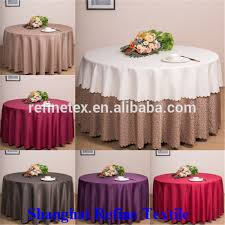 polyester 132 round table cloth