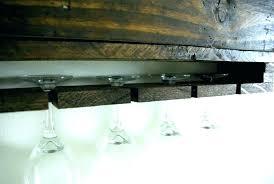 hanging stemware rack how to hang ceiling wine glass holder wall mounted racks ikea ra stemware holder rack dishwasher ikea