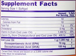 Резултат с изображение за NOW FOODS Cod Liver Oil 1000 mg