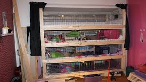 diy home made guinea pig cage 4 y
