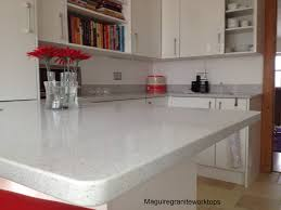Full Size of Granite Countertop 58 Cream Kitchens With Worktops Black Pull  Handles Cabinets Wall Tile ...
