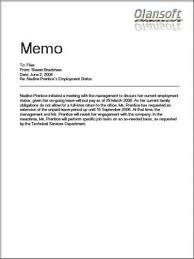 Memo Template 8 Memo Template Business Memo Memo Examples