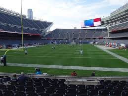 Soldier Field Chicago Bears Seating Chart Bears Tickets 2019 Chicago Games Buy At Ticketcity