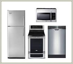 stainless steel kitchen appliance package sears