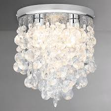 stylish bathroom lighting. Stylish Bathroom Lighting Balcony Extraordinary Buy John Lewis Katelyn Crystal Flush Ceiling Light Pretentious H