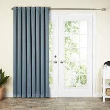 Patio Door Curtain Kitchen Wayfair Basics Wayfair Basics Blackout Grommet Patio