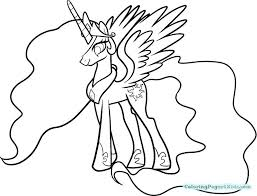 princess celestia coloring page my little pony coloring pages princess and princess my little pony coloring