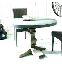 concrete top outdoor dining table round awesome minimalist full image for diy polished concret
