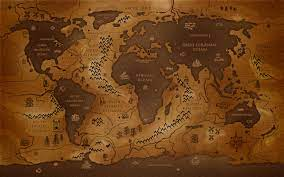 1920X1080 Simple World Map Wallpaper ...