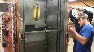 college elevator wiring lab