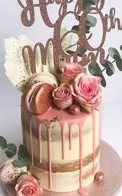 60th Birthday Cake Luxury Drip Cakes Antonias Cakes Merseyside