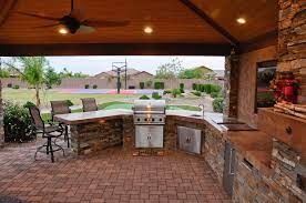 Custom Outdoor Kitchen Bbq Designs Which Is Best For You